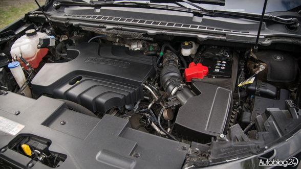 Ford Edge - silnik diesla 2,0 TDCi