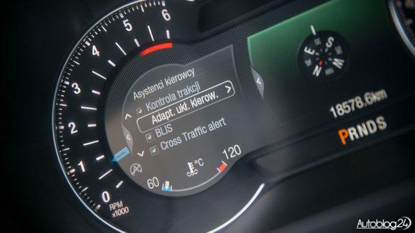 Ford Edge - dostępne systemy bezpieczeństwa