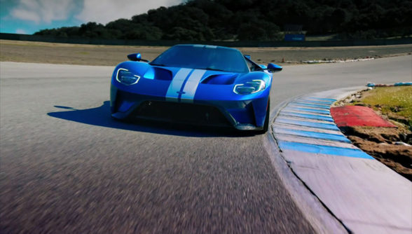Ford GT 2017 - test w Top Gear