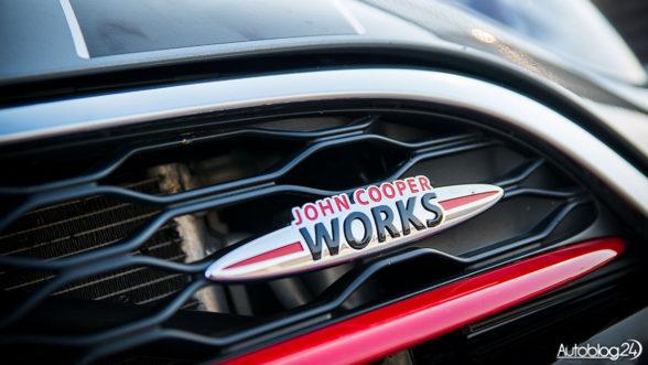 John Cooper Works - logo sportowej wersji