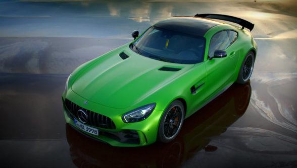 Mercedes-AMG GT R - topowa wersja tego samochodu