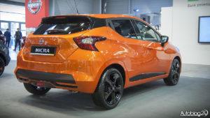 Nissan Micra K14 - pomarańczowy lakier