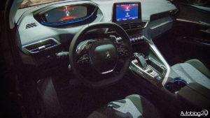Peugeot 3008 - wnętrze