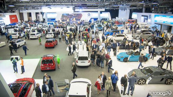 Poznań Motor Show 2017 - stoisko VAG