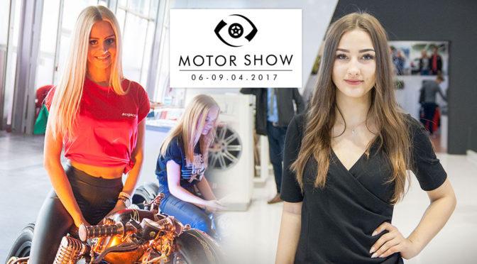 Poznań Motor Show 2017 - zdjęcia hostess z targów motoryzacyjnych