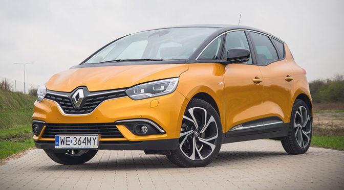 Renault Scenic BOSE 1,6 dCi 130. Minivan nie musi być nudny – TEST