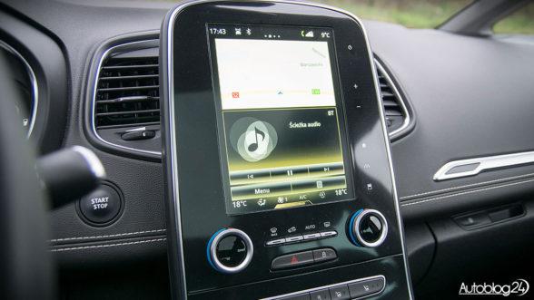 Renault Scenic - system multimedialny R-Link-2