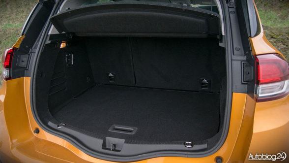 Renault Scenic - bagażnik liczy 506 litrów