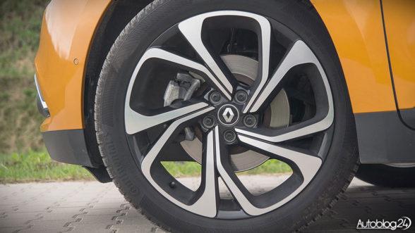 Renault Scenic - felgi Quartz