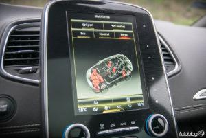 Renault Scenic - środek - 07