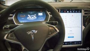 Tesla - futurystyczne wnętrze