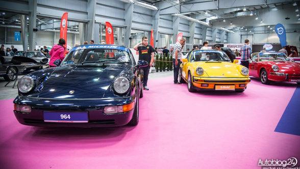 Auto Nostalgia - wystawa Porsche
