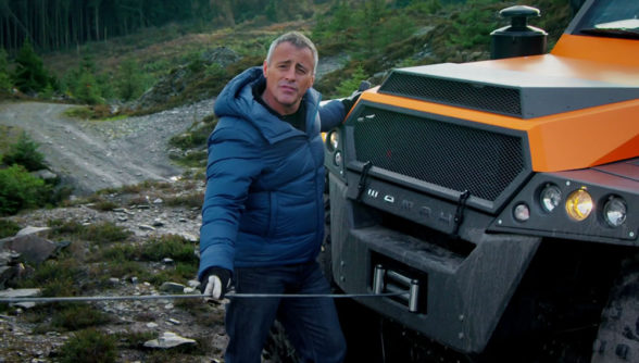 Matt LeBlanc w Top Gear