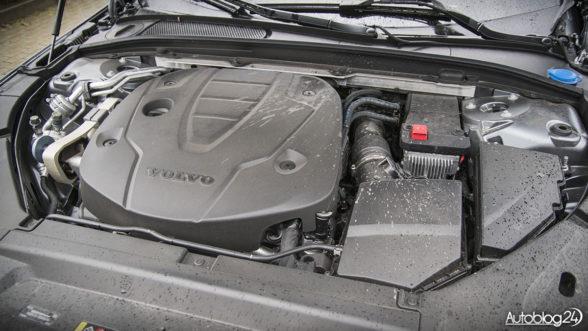 Silnik D5 w Volvo S90