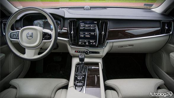 Volvo S90 - luksusowe wnętrze