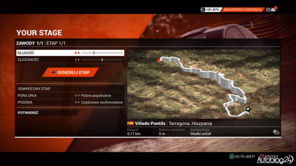 DiRT 4 - tryb Your Stage