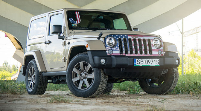Jeep Wrangler 75th Anniversary Edition V6 3.6 284 KM. Terenówka z innego świata - TEST