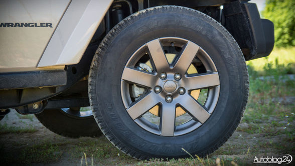 Jeep Wrangler - felgi 18 cali