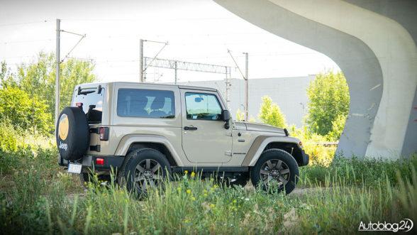 Jeep Wrangler - teren to jego żywioł