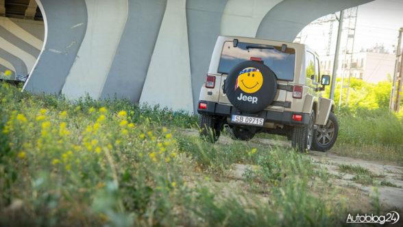 Jeep Wrangler - tył