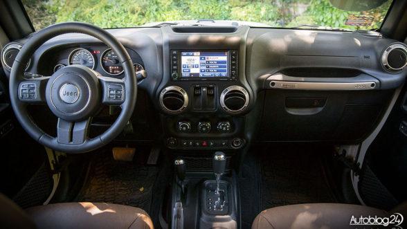 Jeep Wrangler - wnętrze