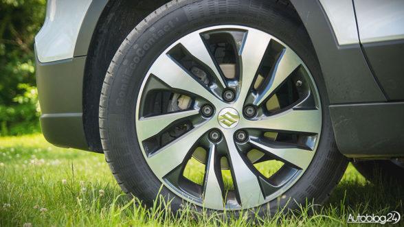 Suzuki - felgi o rozmiarze 17 cali
