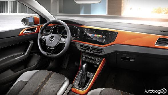 Volkswagen Polo 6 - wnętrze wygląda interesująco