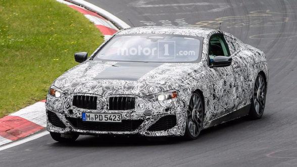 2018 BMW Seria 8 - zdjęcie szpiegowskie