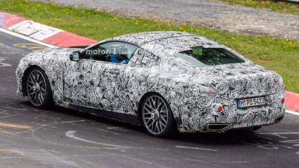 2018 BMW Seria 8 - zdjęcie szpiegowskie - tył