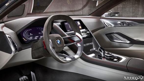 BMW Seria 8 Concept - wnętrze samochodu