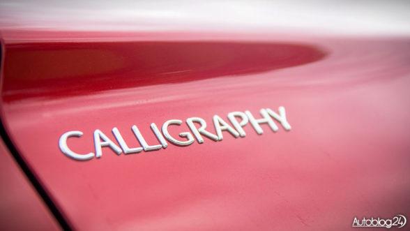 Mitsubishi Calligraphy