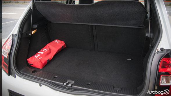Renault Twingo - bagażnik