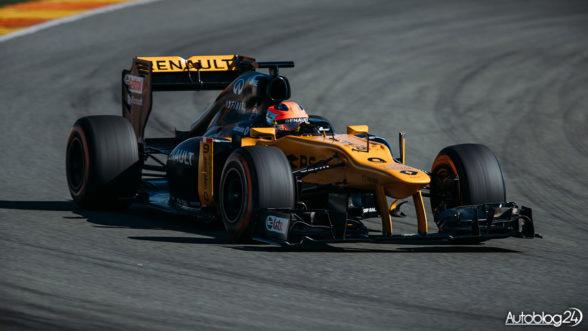 Robert Kubica - testy Renault
