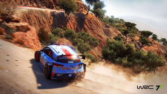 WRC 7 - Hyundai na odcinku specjalnym