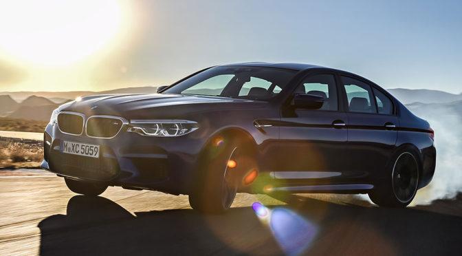 Nowe BMW M5 G30 (2018) – zdjęcia, silnik, osiągi i inne informacje o tym sportowym sedanie