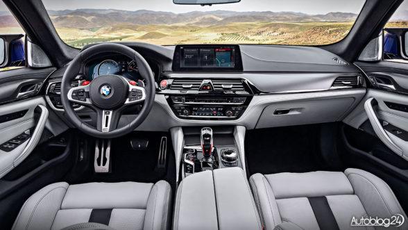 BMW M5 G30 - wnętrze