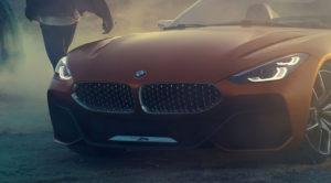 BMW Z4 Concept – zdjęcia zapowiedzi nowej generacji tego roadstera zachwycają, ale nie z każdej strony