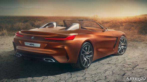 BMW Z4 Concept - tył