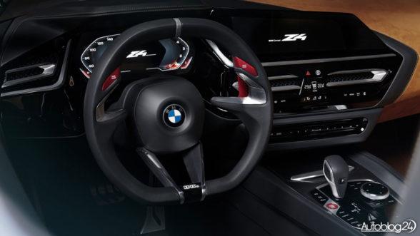 BMW Z4 Concept - wnętrze