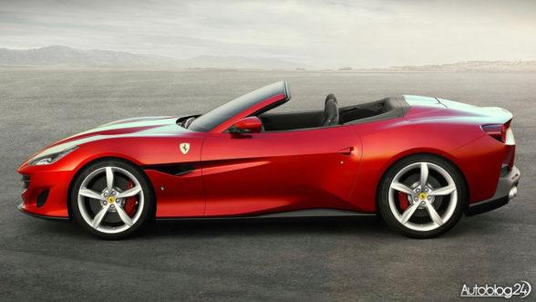 Ferrari Portofino - kabriolet