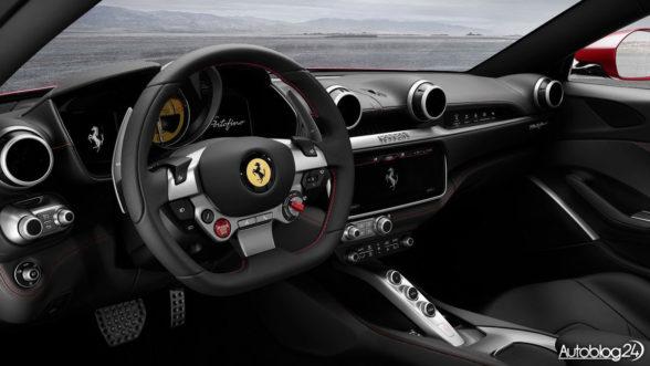 Ferrari Portofino - wnętrze