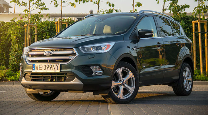 Ford Kuga Titanium 2.0 TDCi 150 KM AWD po liftingu - TEST