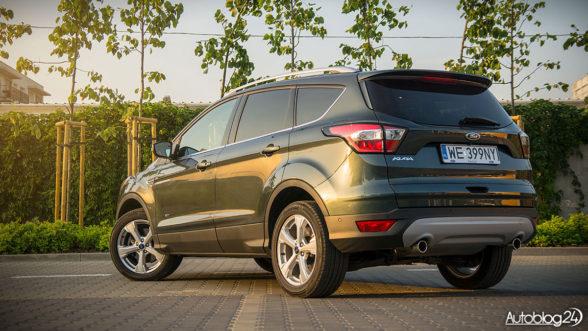 Ford Kuga Tutanium 2017