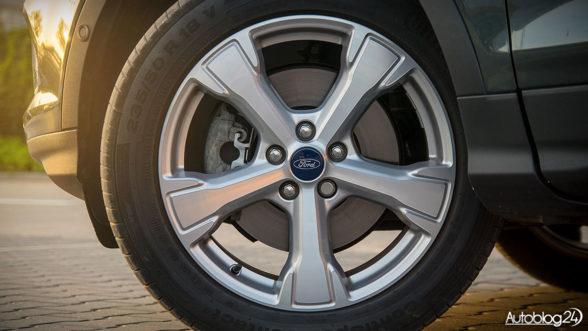 Ford Kuga - felgi 18 cali