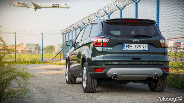 Ford Kuga - lifting