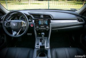 Honda Civic - środek - 01