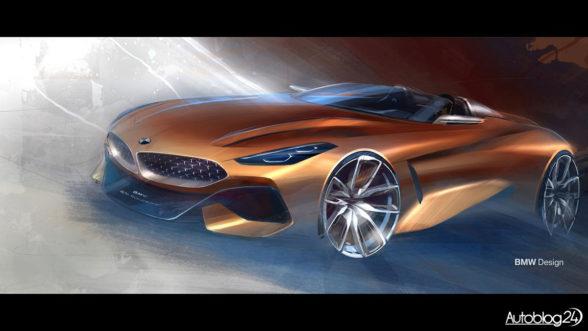 Koncepcyjne BMW Z4
