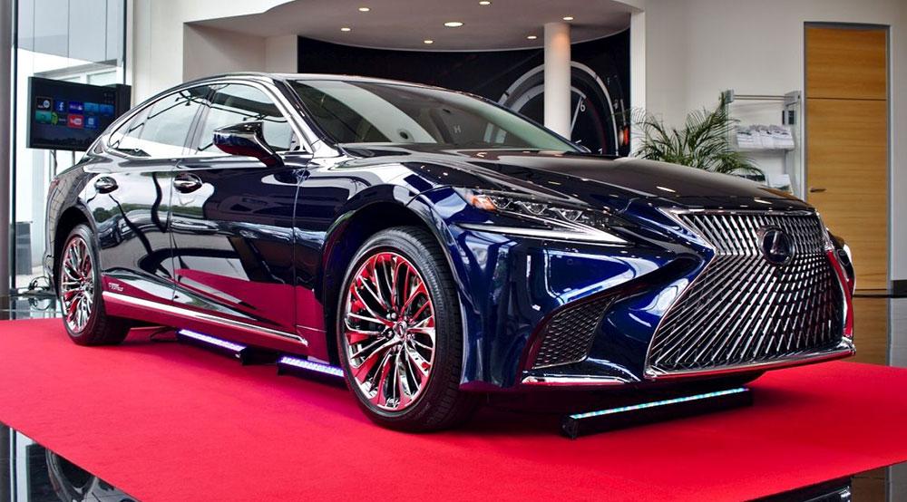 Nowy Lexus LS (2018) 5 generacji - cena w Polsce już znana