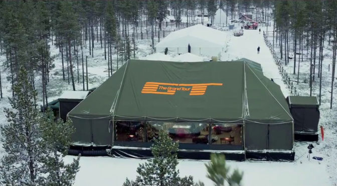 Namiot The Grand Tour w S02 tylko w jednej lokalizacji? Pech zbiera żniwo?