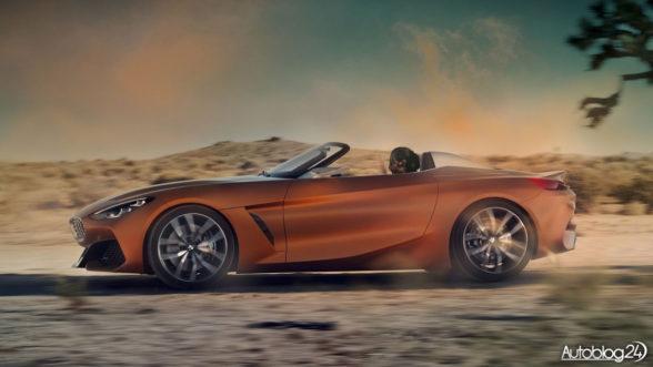 Nowe BMW Z4 Concept